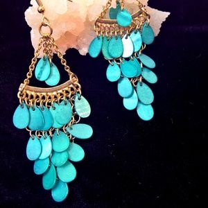 Jewelry - Boho Style Turquoise Earrings
